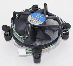 AC Intel LGA115x / 1200 оригинальный процессорный кулер Intel с ШИМ, OEM