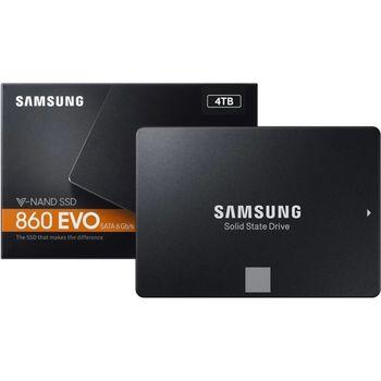 "2.5"" SATA SSD 4.0TB Samsung 860 EVO ""MZ-76E4T0BW"""