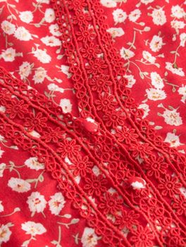 Блуза ORSAY Цветочный принт