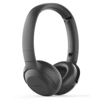 Casti fara fir cu microfon Philips TAUH202BK Black Wireless Headphones,32mm neodymium acoustic driver, 20-20KHz, 32 Ohm, Sensitive 102dB, BT 4.2, Buil-in microphone, up to 10m, 15 hours play time
