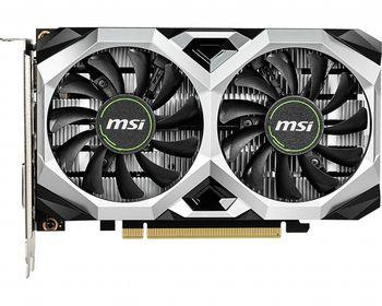 MSI GeForce GTX 1650 VENTUS XS 4G OC /  4GB DDR5 128Bit 1740/8000Mhz, DVI, HDMI, DisplayPort, Dual fan - Customized Design, TORX Fan2.0, Gaming App, Retail