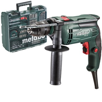 купить Ударная дрель Metabo SBE 650 Mobile Workshop + 65 предметов оснастки в Кишинёве
