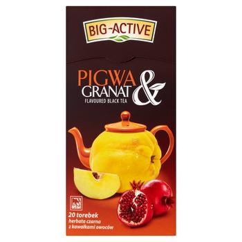 Чай черный Big Active with Quince & Pomegranat, 20 шт
