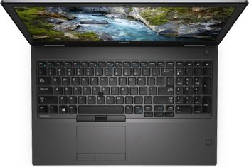 DELL Precision 7540 15.6'' FHD IPS, lntel® i7-9850H, 16GB DDR4 (4x slots), M.2 1T NVMe PCIe Class 40, NVIDIA Quadro T1000, WiFi 802.11AC+BT 5.0, vPro, 6cell 97 WHr Long life 3Y, TB3, USB-C, Carbon, Win10Pro)
