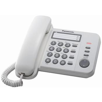 Tелефон PANASONIC KX-TS2352AW, White