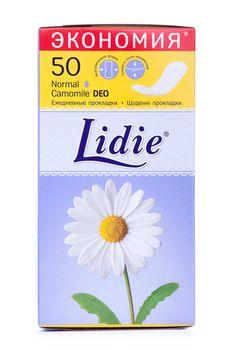 Ежедневные прокладки Lidie Deo, 50 шт.
