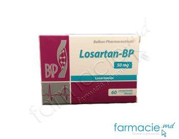 купить Losartan-BP comprimate filmate 50 mg N20x3 (Balkan) в Кишинёве