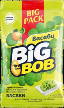 Арахис в оболочке со вкусом васаби Big Bob (90г)