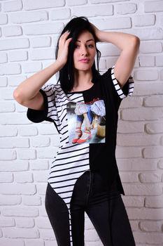 купить Женская футболка Simona ID 4079 в Кишинёве