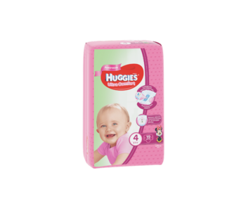 cumpără Scutece Huggies Ultra Comfort Small pentru fetiţă 4 (8-14 kg), 19 buc. în Chișinău