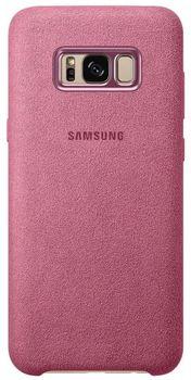 cumpără Husă telefon Samsung EF-XG955, Galaxy S8+, Alcantara Cover, Pink în Chișinău