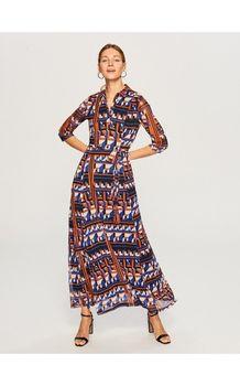 Платье RESERVED Принт ur107-mlc