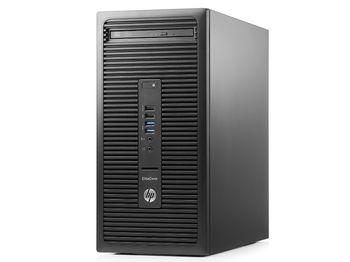 HP EliteDesk 705 G3 MT +W10 Pro AMD Ryzen™ 3 PRO 1200 (Quad Core, up to 3.40GHz, 8MB), 8GB DDR4 RAM, 256GB SSD, DVDRW, AMD Radeon™ R7 430 2GB Graphics, 280W PSU, VGA, 2*DP, RS232, USB KB&MS, Win 10 Pro, Black
