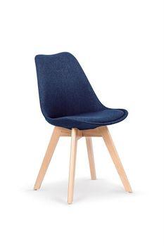 cumpără K303 krzesło ciemny niebieski / buk în Chișinău