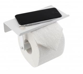 купить Крючок для туалетной бумаги с полочкой для мобильного телефона 129621 в Кишинёве