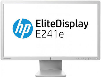 Monitor 24. HP EliteDisplay E241e TFT IPS (1920x1200, 250cd/m, 8ms, D-Sub, DVI, DP)