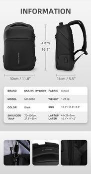 купить Мужской городской рюкзак Mark Ryden MR9068YY. в Кишинёве