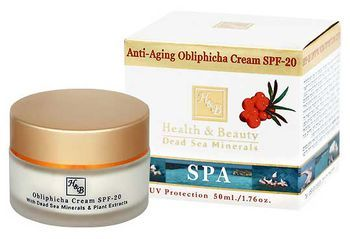 Антивозрастной крем из облепихи SPF-20 Health & Beauty 50 мл