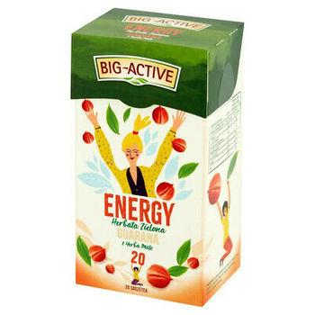 купить Чай зеленый Big Active Energy with Guarana & Yerba Mate, 20  шт в Кишинёве