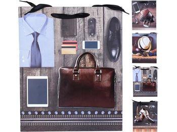 """Пакет подарочный """"For Gentleman"""" 32X26X10сm"""
