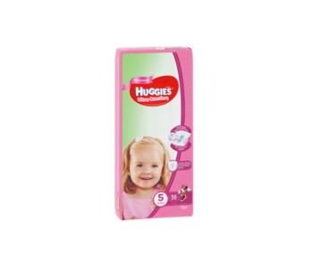 cumpără Scutece Huggies Ultra Comfort Mega pentru fetiţă 5 (12-22 kg). 56 buc în Chișinău