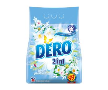 cumpără Dero Automat 2in1 Iris Alb şi Flori de Romaniţă, 4 kg. în Chișinău