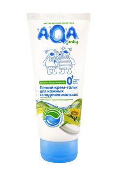 cumpără AQA copil Crem deschis talc  pentru pielea copilului pliurile, 100 ml în Chișinău