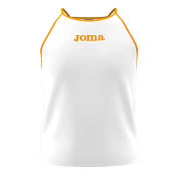 Футболка JOMA - VALLINA TANK TOP WHITE