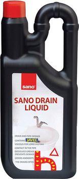 cumpără Sano Drain Liquid Solutie de curatare canalizare (1 L) 117916 în Chișinău