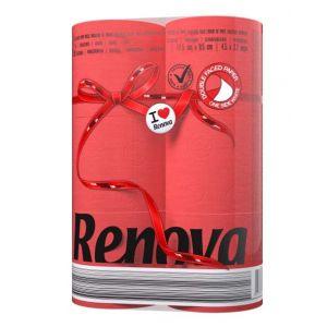 cumpără Renova Hârtie igienică Roșu (6) în Chișinău