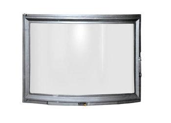 Дверца чугунная с панорамным стеклом FPL5
