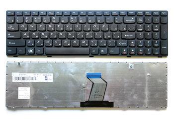 Keyboard Lenovo G580 Z580 V580 G585 ENG/RU Black