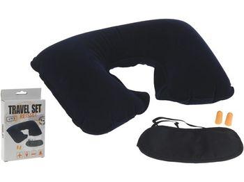 Набор дорожный (подушка шейная надувн +очки+беруши)