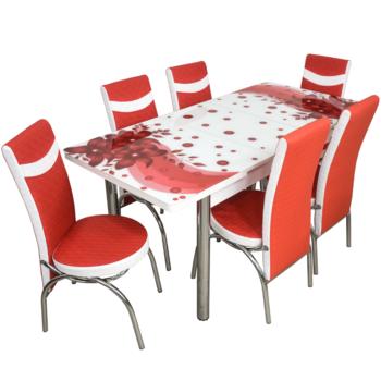 Комплект Келебек ɪɪ 1637 + 6 стульев