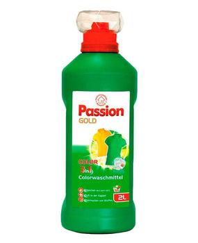 Гель для стирки  Passion Gold  2l 3in 1 Delicate с новой формулой