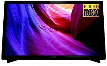 "купить ""22"""" LED TV Philips 22PFT4000/12, Black (1920x1080 FHD, PMR 100 Hz, DVB-T/T2/C) (22"""", 60 cm, Black, Full HD, PMR 100Hz,2 HDMI, SCART, USB  (foto, audio, video, USB recording), S/P-DIF, DVB-T/T2//C,  Speakers 5W, 2.7Kg, VESA 100x100)"" в Кишинёве"