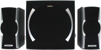 "Edifier X600 Black, 2.1/ 14W+ 2x8W RMS, all wooden, (sub.6,5""+satl.(3""+3/4""))"