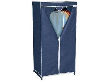 Dulap-organizator din textil Blue 150X75X50cm
