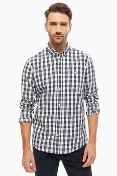 Рубашка Tom Tailor Белый в клетку tom tailor 1013888