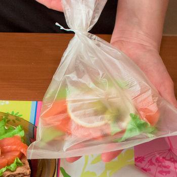 купить Пакетики для завтраков Paterra, 50 шт. в Кишинёве