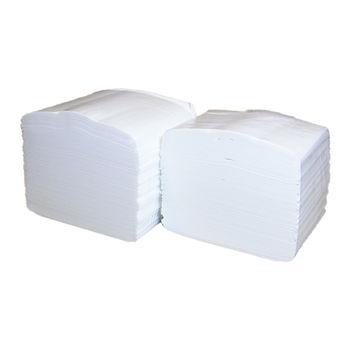 Бумага туалетная листовая белая 2 слоя 250 листов