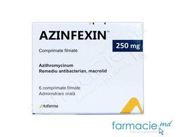 купить Azinfexin™ comp. film. 250 mg  N6 в Кишинёве