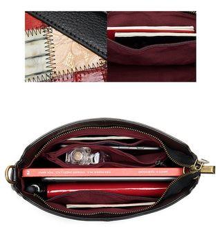 купить Наплечная сумка из натуральной кожи, винтажный стиль в Кишинёве