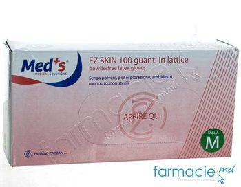 купить Manusi Skin n/s latex p/u examinare tasturate f/talc, Medium (Med'S) в Кишинёве