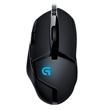 Logitech Gaming Mouse G402 Hyperion Fury, High-speed, 8 Programmable buttons, 240-4000 dpi, Fusion Engine hybrid sensor, 1ms report rate