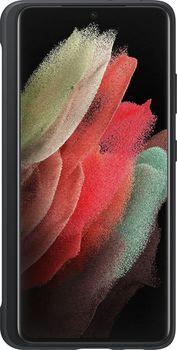 купить Чехол для моб.устройства Samsung Galaxy S21 Ultra EF-PG99P Silicone Cover with S Pen Black в Кишинёве
