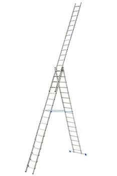 купить Ascara. VHR P 3x17 Лестница алюминиевая трехсекционная Elkop в Кишинёве