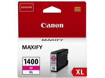 Ink Cartridge Canon PGI-1400XL M, magenta 12ml for MAXIFY MB2040/MB2340/MB2140/MB2740