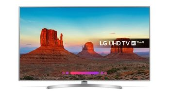 "65"" LED TV LG 65UK6950, Black, 3840x2160 (4K), SmartTV (webOS), HDR10 Pro, PMI 1700Ghz, ULTRA Surround, HbbTV, Color Enhancer, Clear Voice III, RMS 2x10W, HDMIx3, USBx2, WiFi(ac)+Lan+BT, S/PDIF, DVB-T2/C/S2/CI+, Vesa 200x200"
