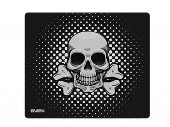 Коврик для игровой мыши SVEN GF2L, 450 x 400 x 3 мм, тканевая поверхность для скорости, прорезиненное основание, изображение